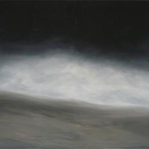 Landscape, Oil on canvas, 120 x 120 cm