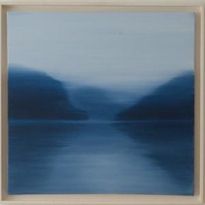 Silence, Oil on canvas, 60 x 60cm