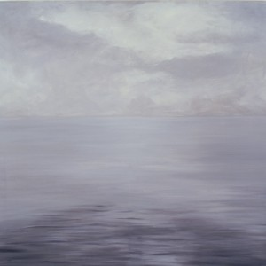 The sea, Oil on canvas, 120 x 120 cm