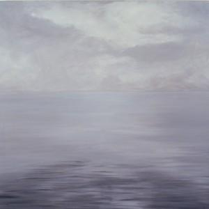 The sea, Oil on canvas, 120 x 120 cm